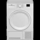 Beko DTLCE80041W Tumble Dryer, Condenser, 8kg