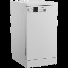 Beko DVS05C20W Dishwasher, Slimline