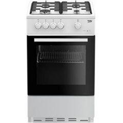 Beko ESG50W Cooker, Single Oven Gas