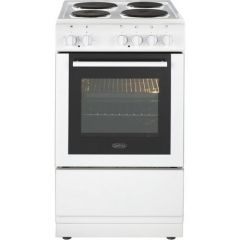 Belling FS50ESWHI Cooker, Single Oven Electric