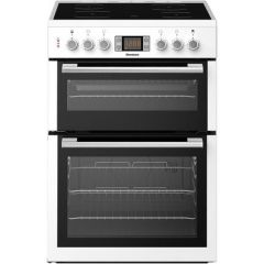 Blomberg HKN64W Cooker, Double Oven Electric